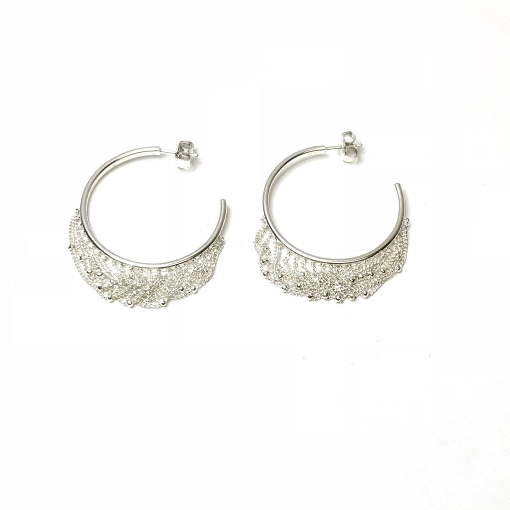 Links of London Tassel Hoop Earrings Earrings Links of London