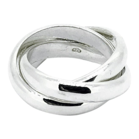 Links of London Triple Ring in Sterling Silver Rings Links of London