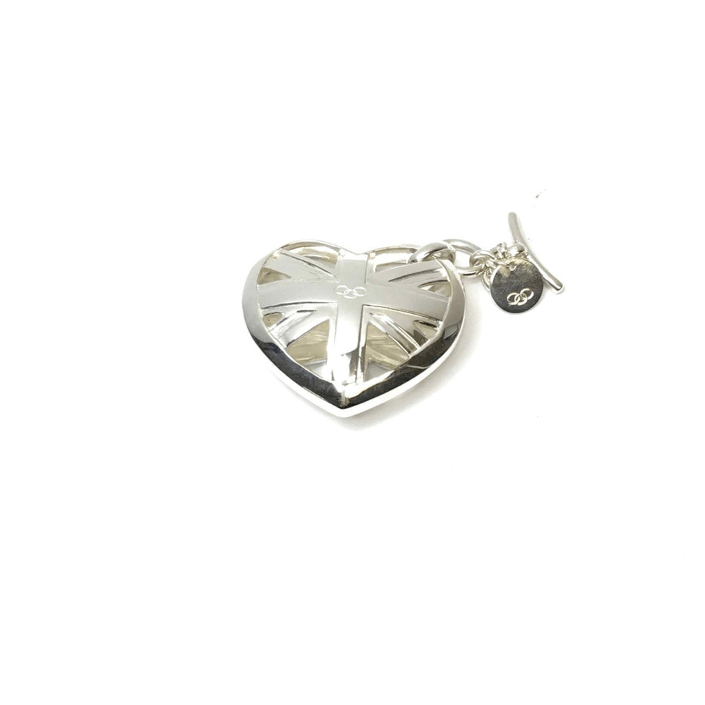 Links of London Union Jack Heart Keyring Charms & Pendants Links of London