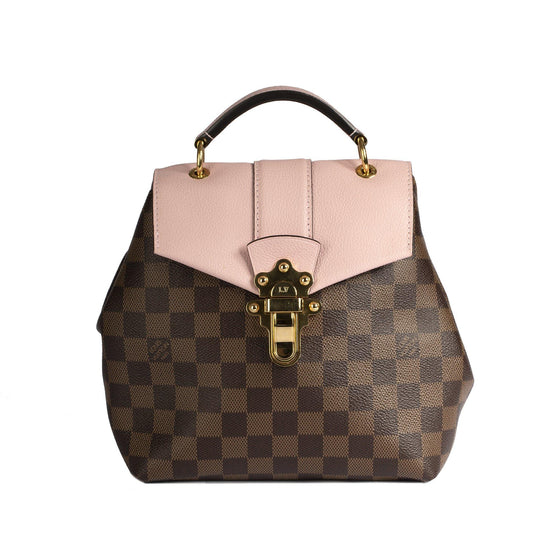 Louis Vuitton 2018 Damier Ebene Clapton Convertible Backpack Bags Louis Vuitton