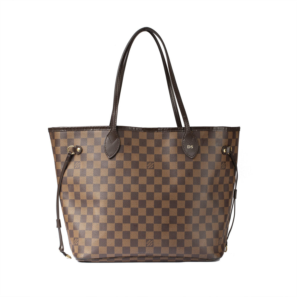 Louis Vuitton 2018 Damier Ebene Neverfull MM Bags Louis Vuitton