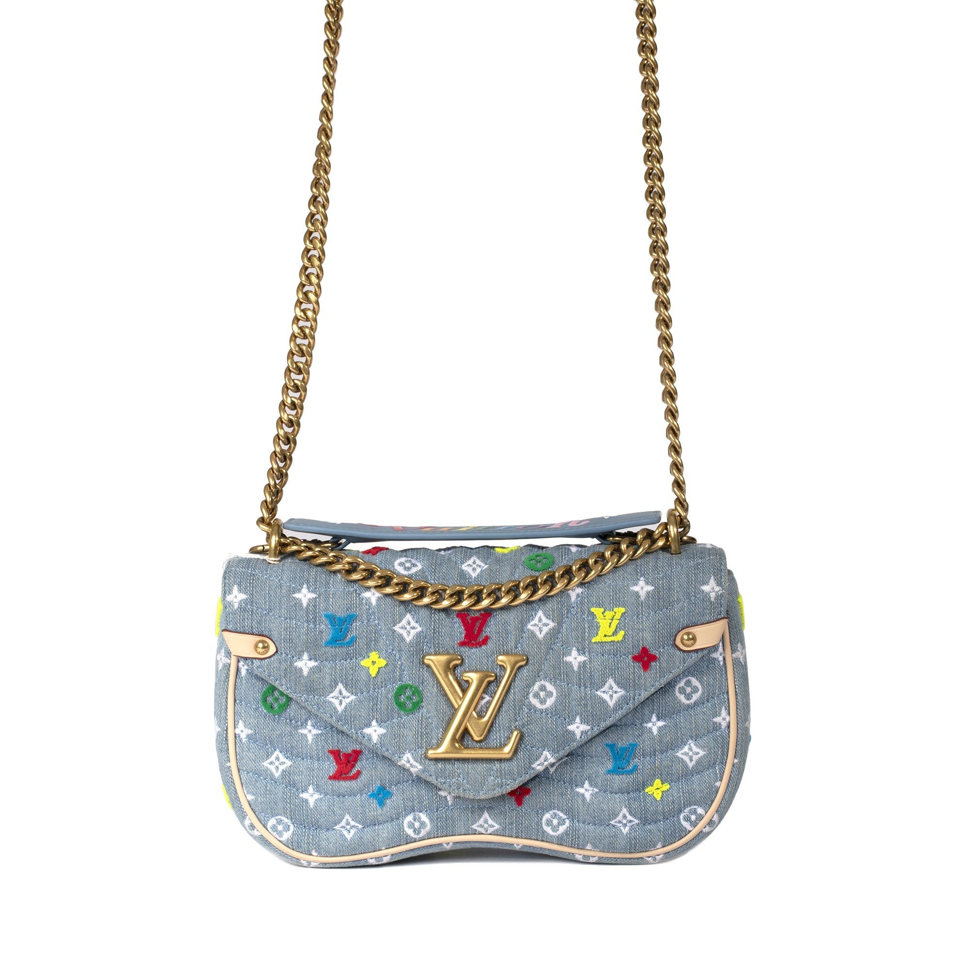 100% authentic first rate great variety models Louis Vuitton 2019 New Wave Chain-Bag MM