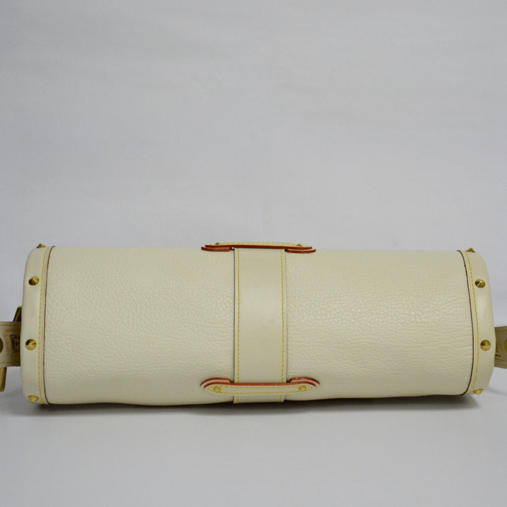 Louis Vuitton Beige Goatskin Suhali L Epanoui PM Bags Louis Vuitton