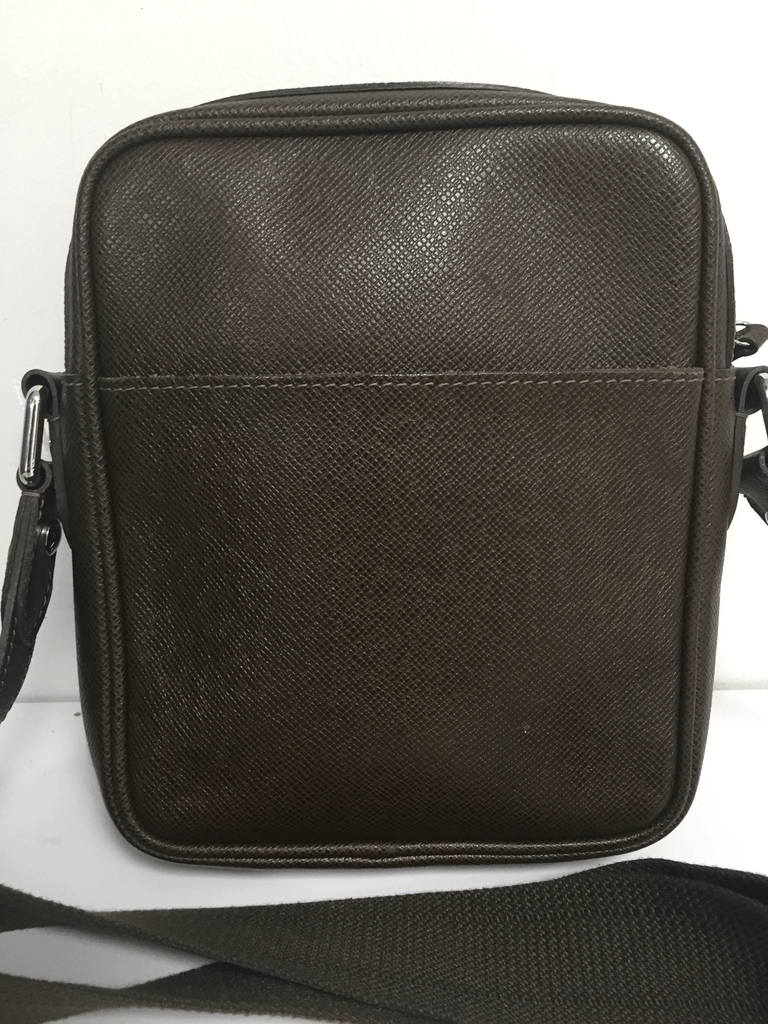 Louis Vuitton Brown Taiga Dimitri Bag - Bags