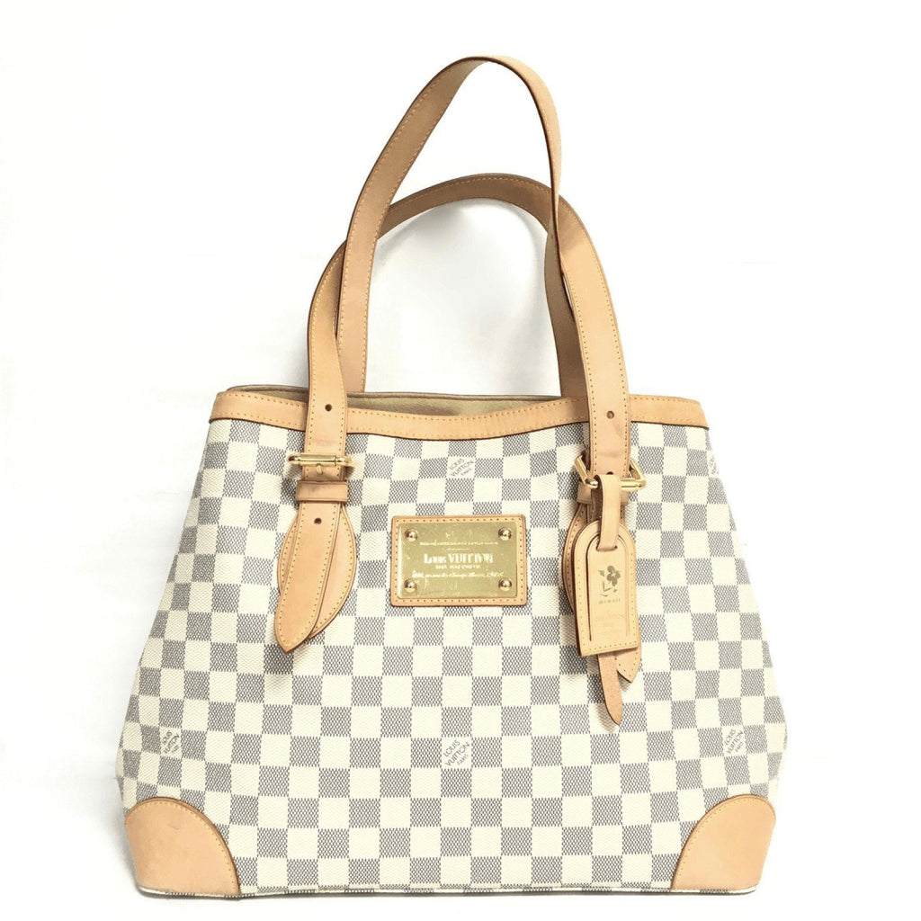Louis Vuitton Damier Azur Hampstead MM Bags Louis Vuitton