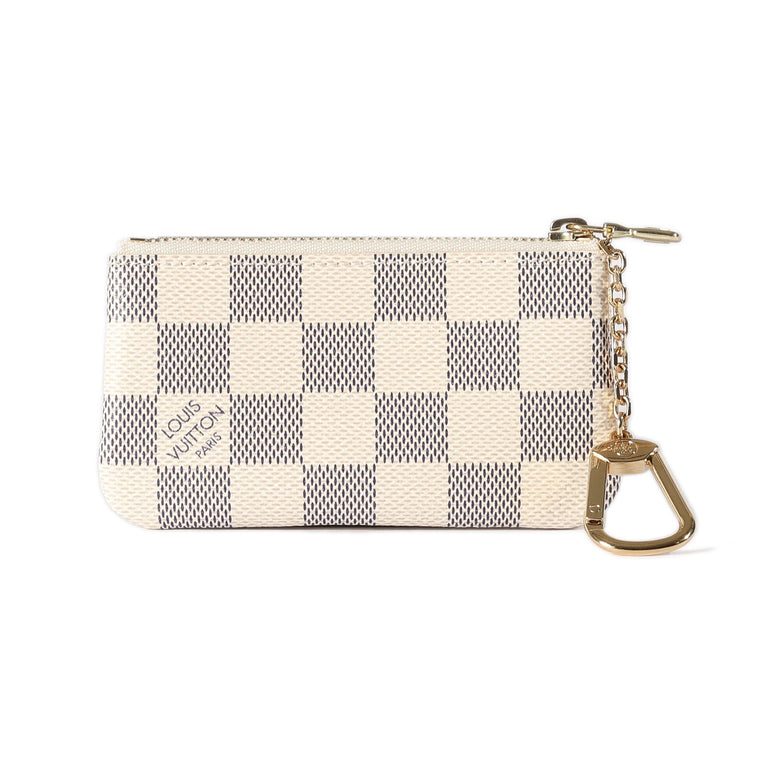 Louis Vuitton Damier Azur Key Pouch Wallets Louis Vuitton
