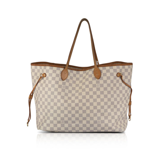 Louis Vuitton Damier Azur Neverfull MM Bags Louis Vuitton