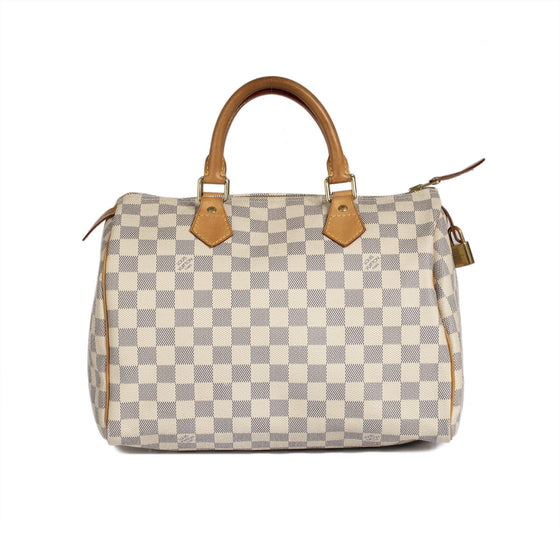 Louis Vuitton Damier Azur Speedy 30 Bags Louis Vuitton