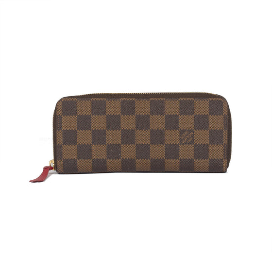Louis Vuitton Damier Ebene Clemence Wallet Wallets Louis Vuitton