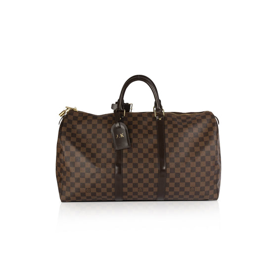 Louis Vuitton Damier Ebene Keepall 50 Bags Louis Vuitton