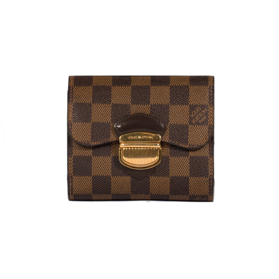 Louis Vuitton Damier Ebene Koala Wallet Wallets Louis Vuitton