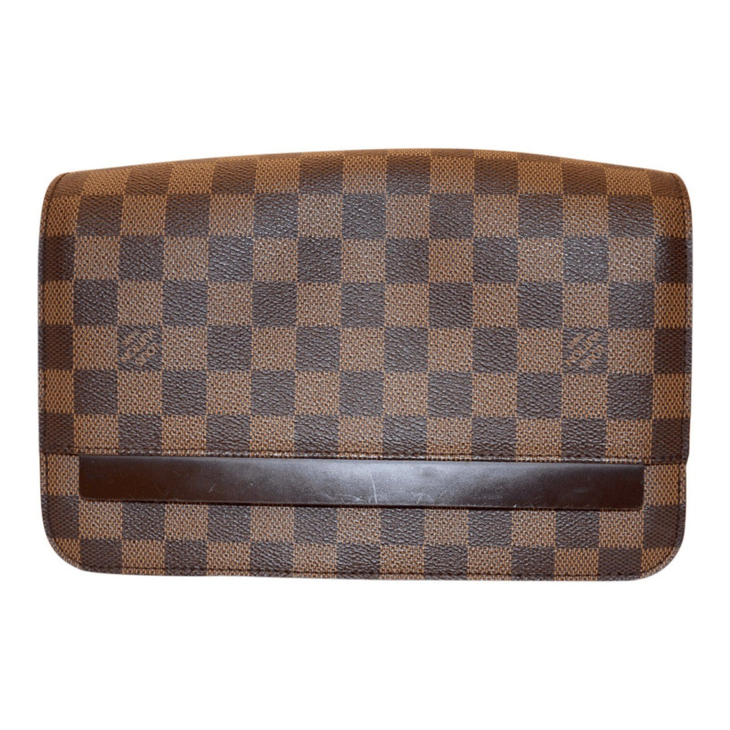 Louis Vuitton Damier Ebene Saint Paul Clutch Bags Louis Vuitton