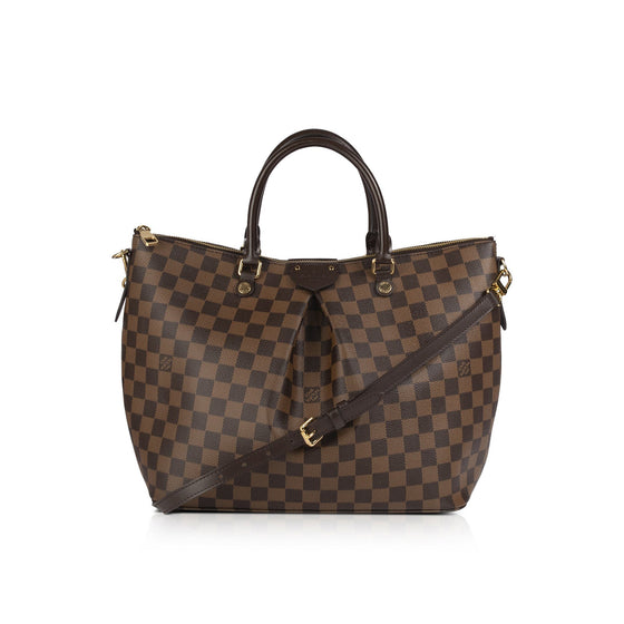 Louis Vuitton Damier Ebene Siena GM w/ Receipt Bags Louis Vuitton