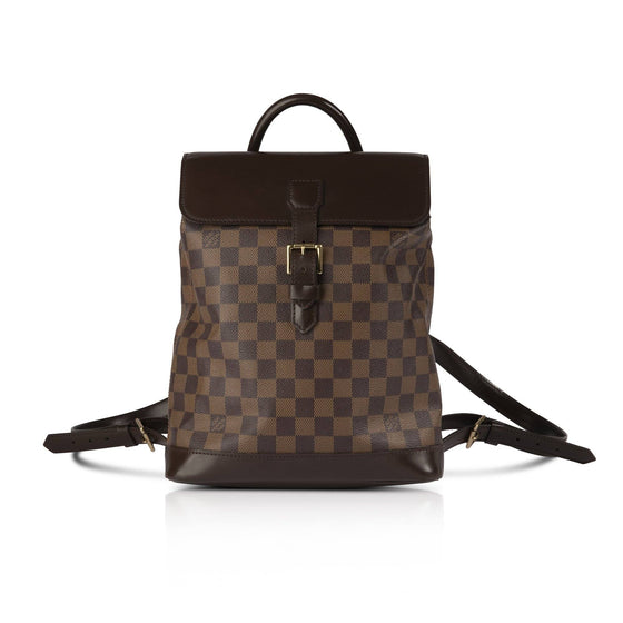 Louis Vuitton Damier Ebene Soho Backpack Bags Louis Vuitton