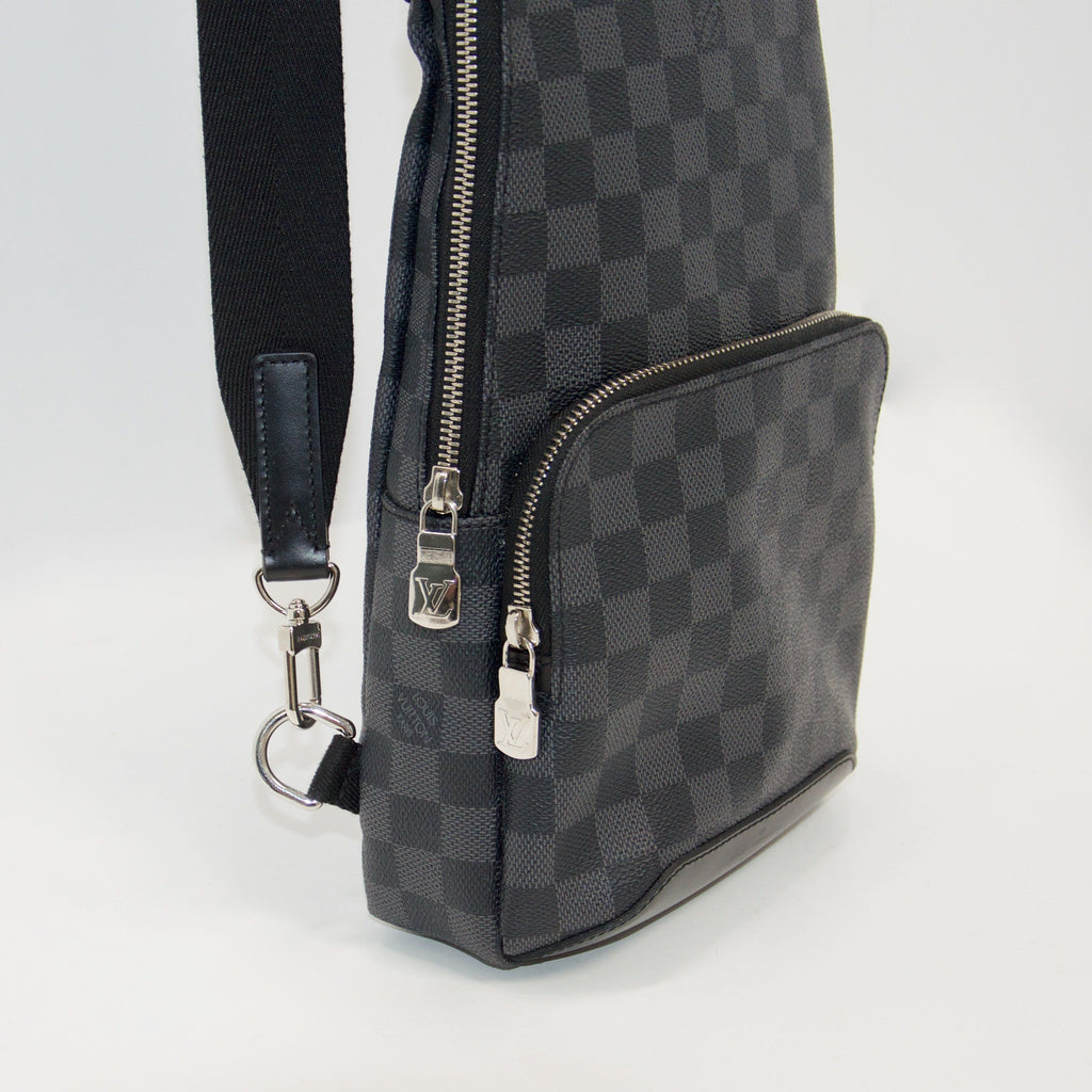 Louis Vuitton Damier Graphite Avenue Sling Bag Bags Louis Vuitton