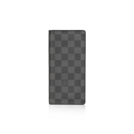 Louis Vuitton Damier Graphite Brazza Wallet Wallets Louis Vuitton