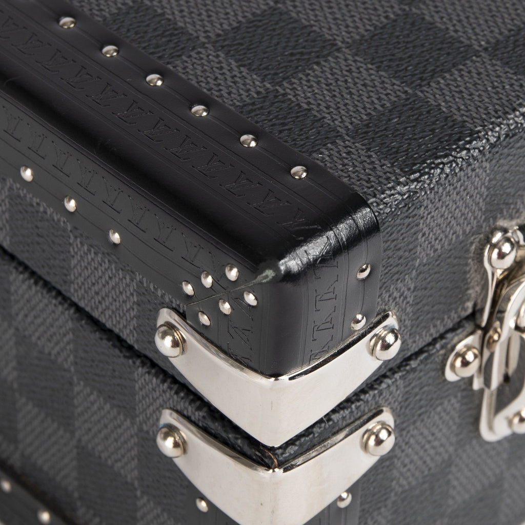 Louis Vuitton Damier Graphite President Briefcase Bags Louis Vuitton