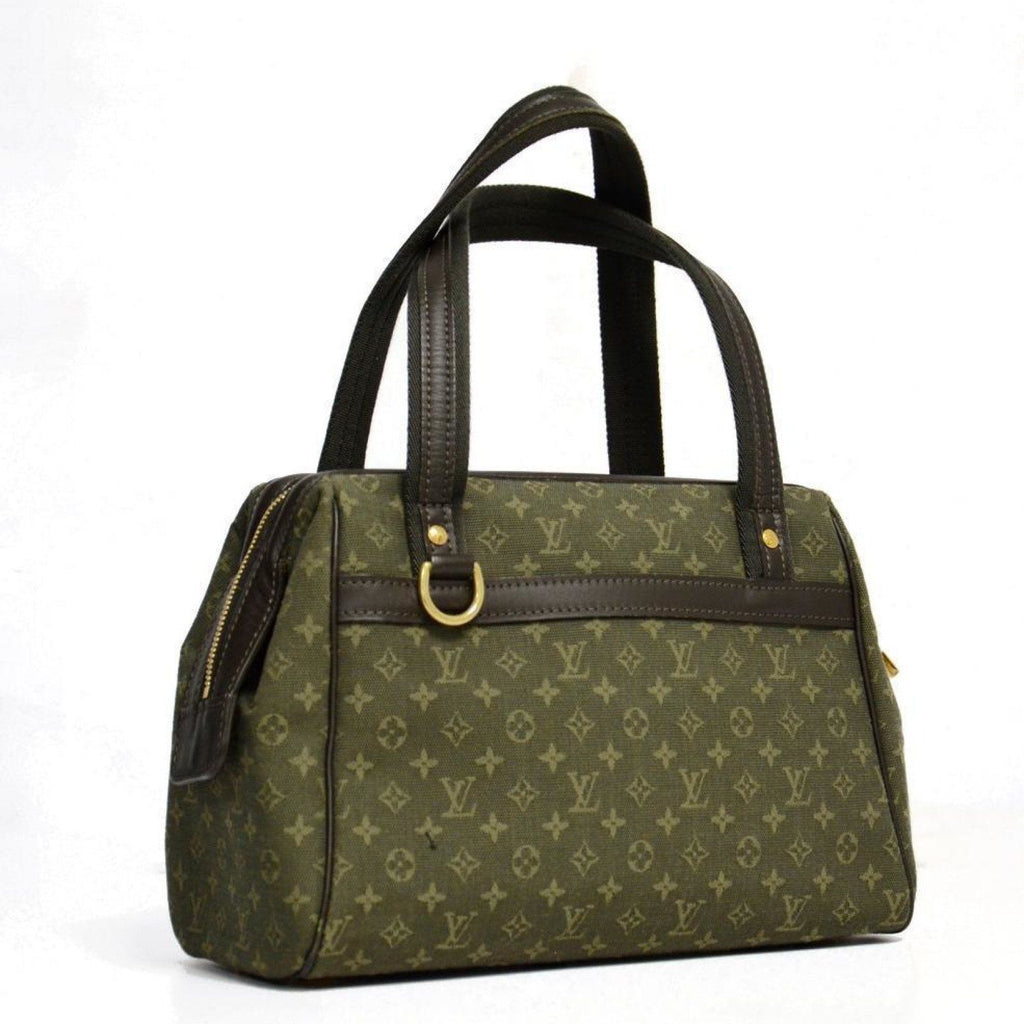 Louis Vuitton Green Josephine Pm - Bags