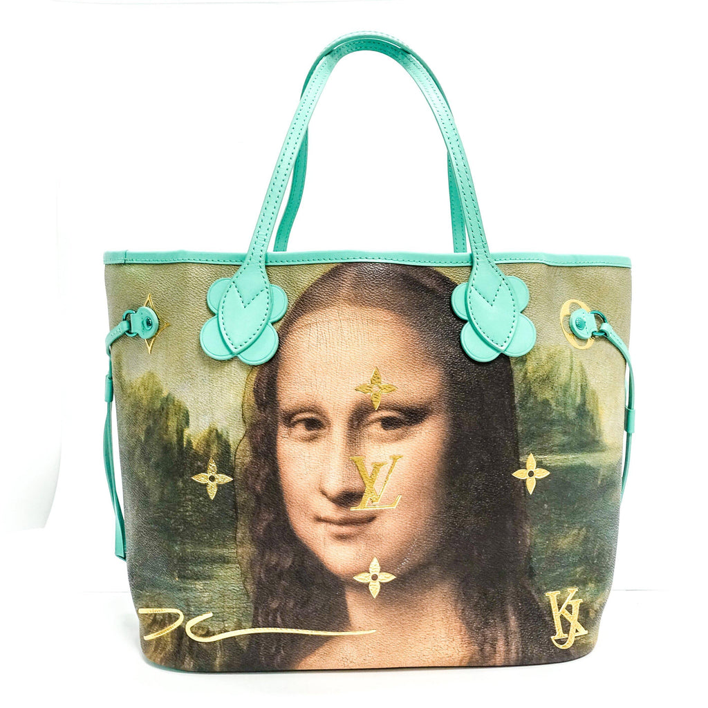 Louis Vuitton Limited Edition Masters Collection Da Vinci Neverfull Mm - Bags