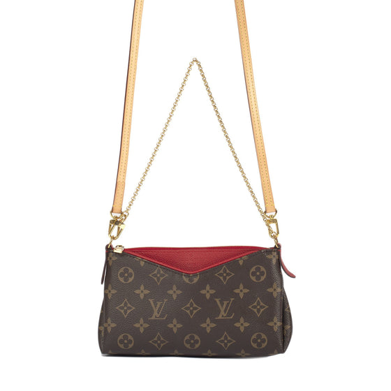Louis Vuitton Monogram Pallas Clutch Bags Louis Vuitton