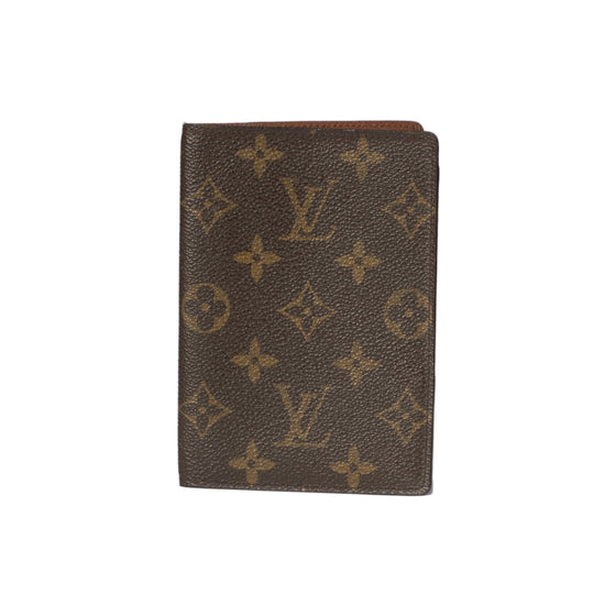 Louis Vuitton Monogram Passport Cover Wallets Louis Vuitton