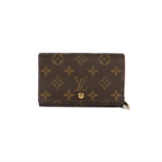 Louis Vuitton Monogram Porte-Tresor Wallet Wallets Louis Vuitton