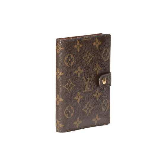 Louis Vuitton Monogram Small Ring Agenda Cover Accessories Louis Vuitton