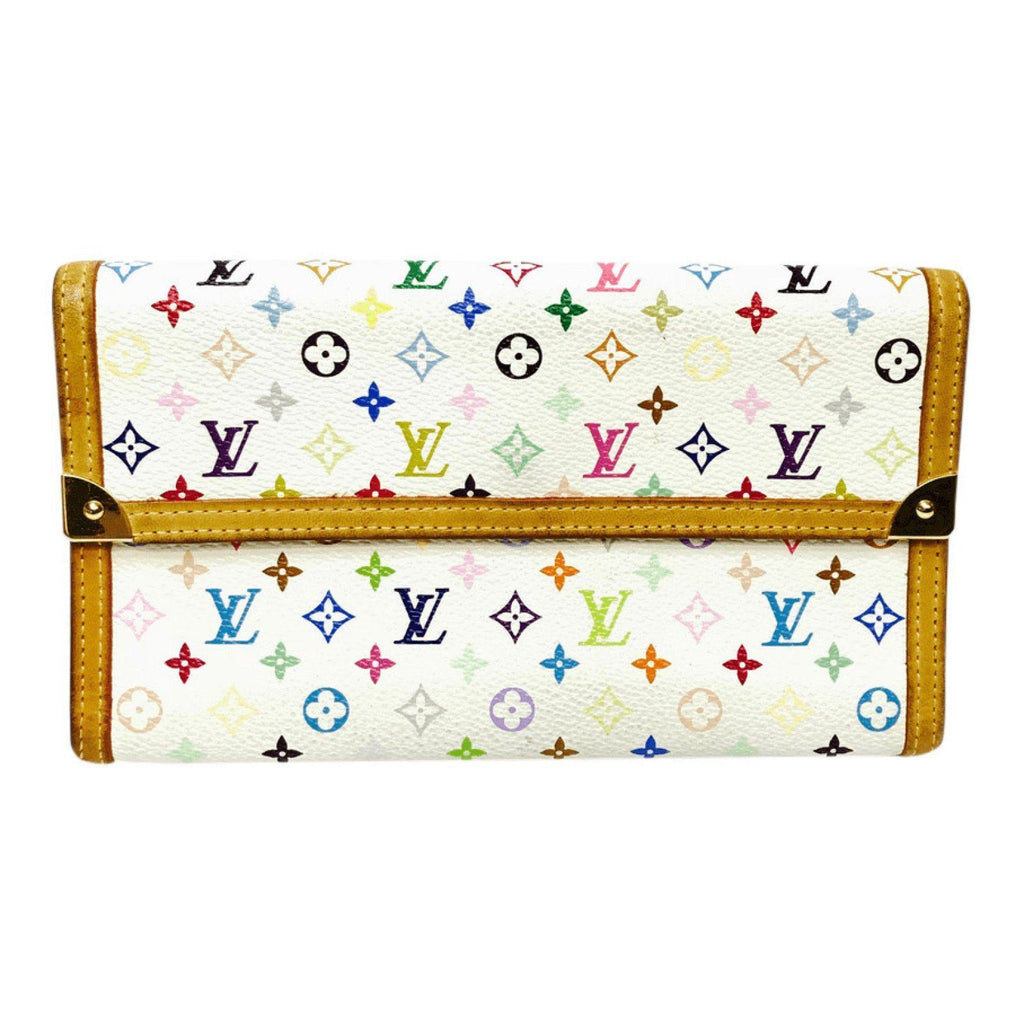 Louis Vuitton Multicolore Porte Tresor Wallet Wallets Louis Vuitton
