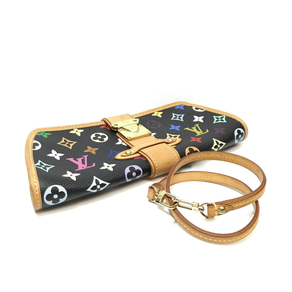 Louis Vuitton Multicolore Shirley Clutch Bags Louis Vuitton