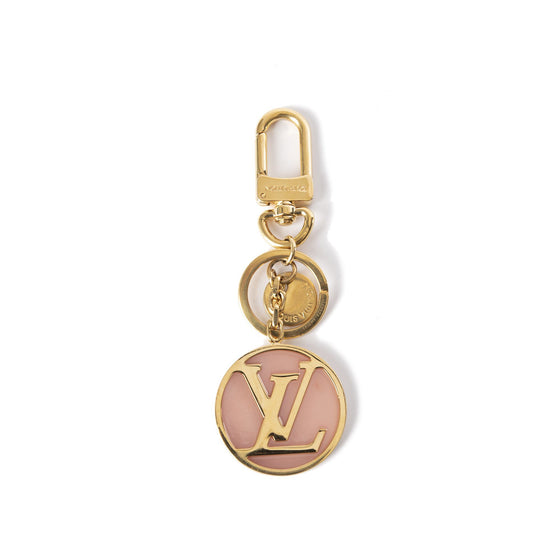 Louis Vuitton Pink Circle Bag Charm & Key Holder Accessories Louis Vuitton