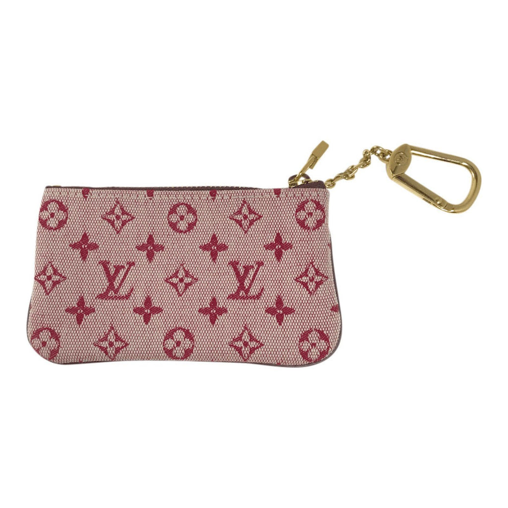 Louis Vuitton Pink Monogram Idylle Cles Key Pouch Accessories Louis Vuitton