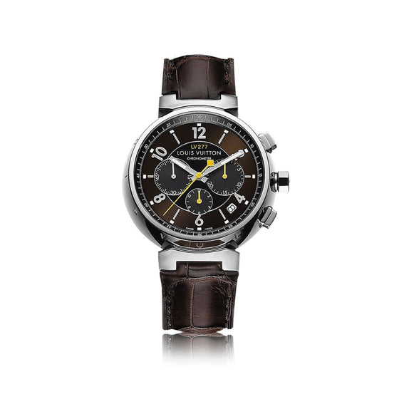 Louis Vuitton Tambour Essential Chronograph Watch Watches Louis Vuitton