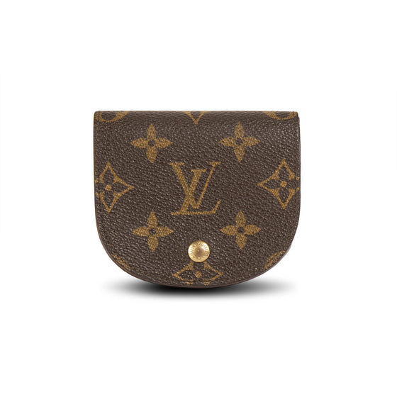 Louis Vuitton Vintage Monogram Coin Purse w/ Box Wallets Louis Vuitton