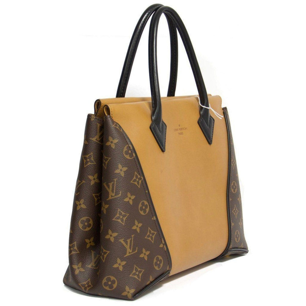 Louis Vuitton W Monogram Cuir Orfèvre Tote Noisette PM Bag Bags Louis Vuitton