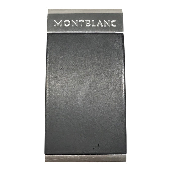 Montblanc Money Clip in Stainless Steel Accessories Miscellaneous