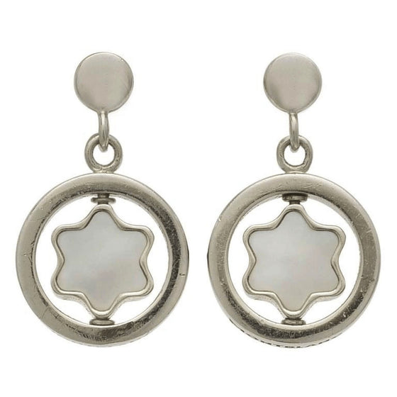 Montblanc Star Signet Mother of Pearl Earrings Earrings Miscellaneous