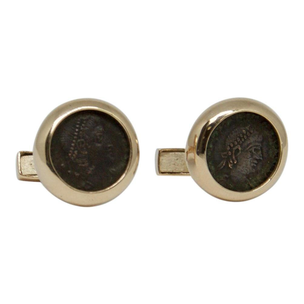 Oliver Estate Coin Cufflinks Men's Jewellery Miscellaneous