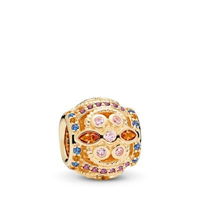 Pandora 14k Gold Colour Fresco Charm Charms & Pendants Pandora