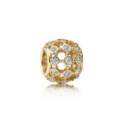 Pandora 14k Gold In the Spotlight Charm Charms & Pendants Pandora