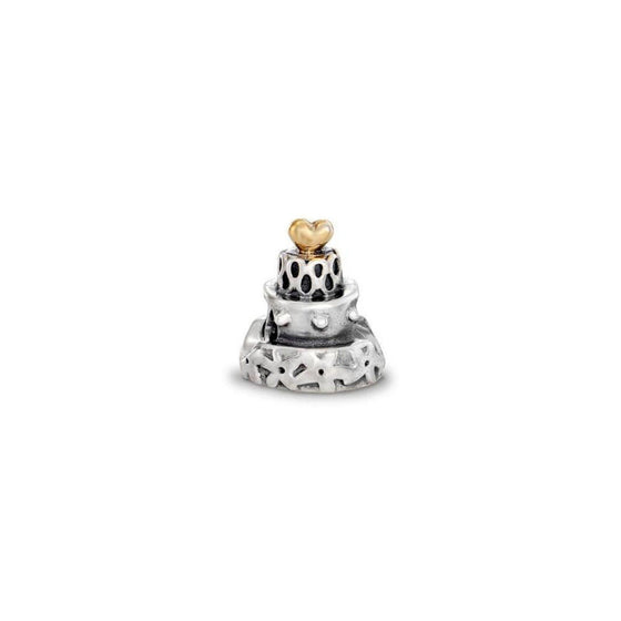 Pandora 2-Tone Celebration Cake Charm Charms & Pendants Pandora