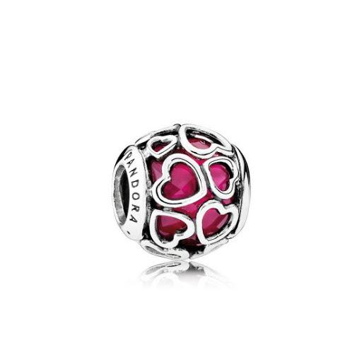 Pandora Encased in Love Charm Charms & Pendants Pandora