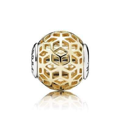 Pandora Essence Collection 14k Gold Intuition Charm Charms & Pendants Pandora