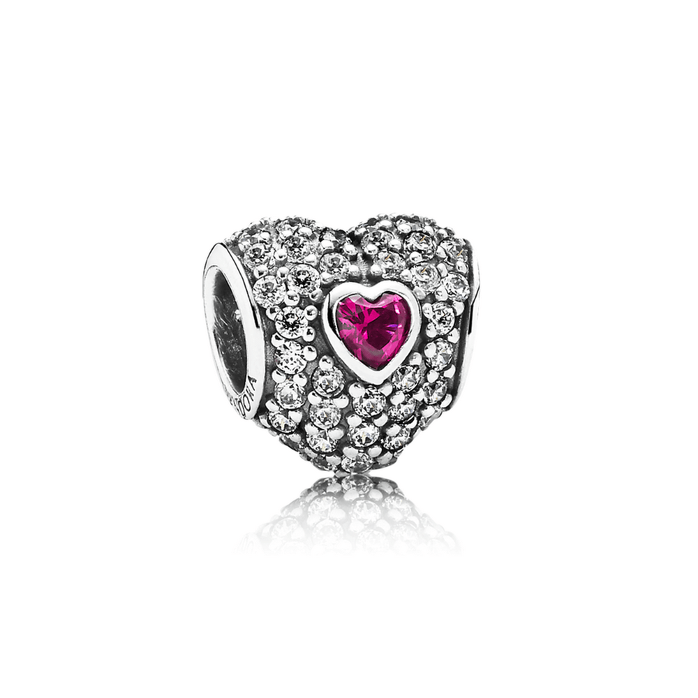 Pandora In My Heart Charm Charms & Pendants Pandora