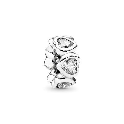 Pandora In My Heart Spacer Charm Charms & Pendants Pandora