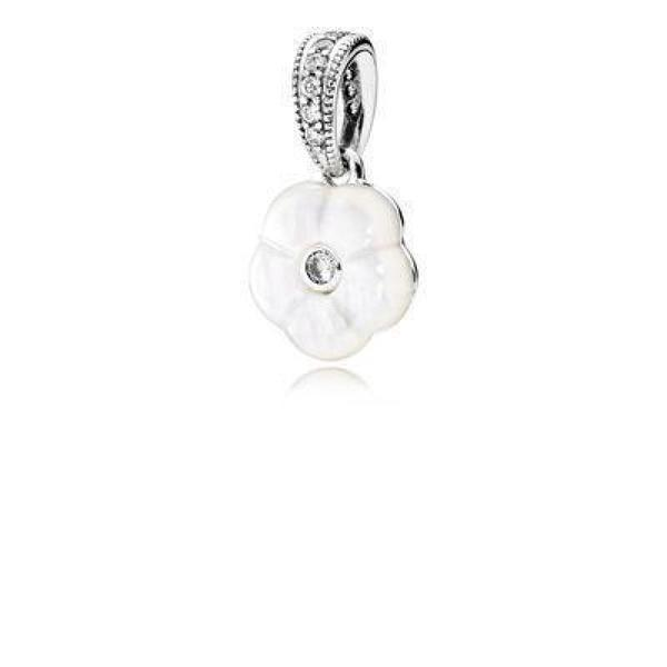 Pandora Luminous Floral Pendant - Charms & Pendants