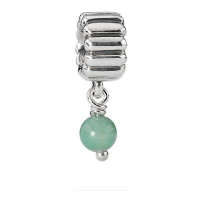 Pandora May, Chrysoprase Charm Charms & Pendants Pandora