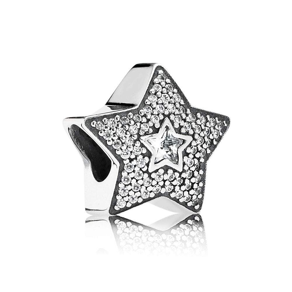 Pandora Wishing Star Charm - Charms & Pendants