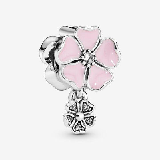 Pandora Poetic Blooms Charm Charms & Pendants Pandora