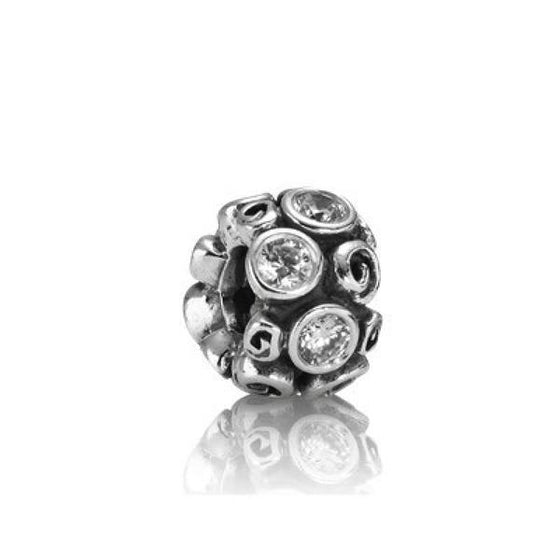 Pandora Primrose Path Charm with Clear CZ Charms & Pendants Pandora