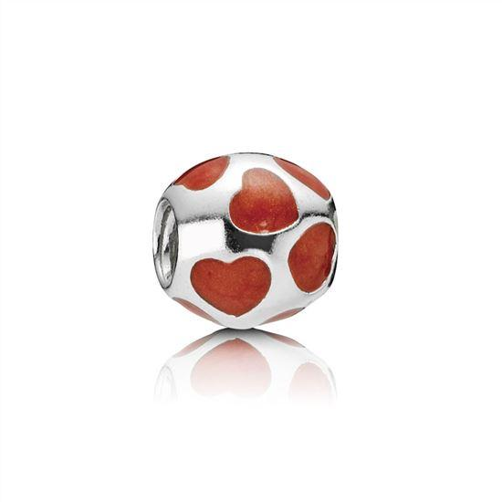 Pandora Red Love You Charm Charms & Pendants Pandora